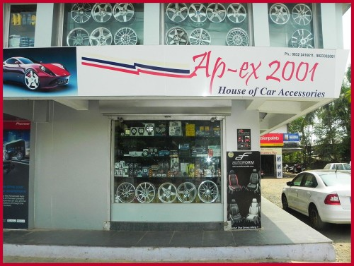 Apex 2001 | Automobiles Accessories Shop in Goa | Car Accessories Shop