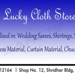 Lucky Cloth Store, Vasco-da-Gama, South Goa, Goa