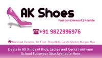 AK Shoes - Footwear Shop Store in Margao, South Goa, Goa